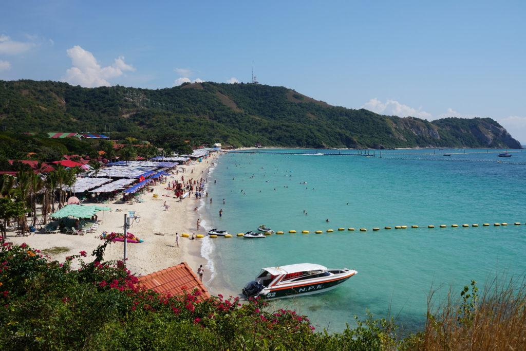 Samae beach, Ko Larn, Thailand