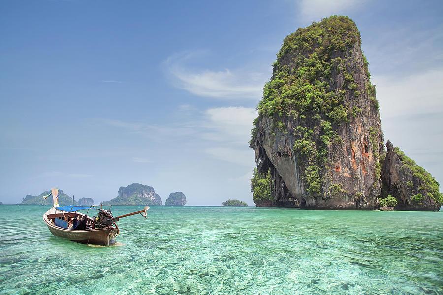 Krabi 4 Islands by long-tail boat